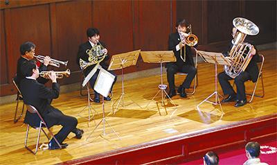 金管5重奏の響き