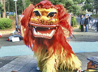 「中国獅子舞」がやってくる