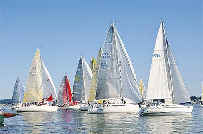 五輪見据えヨットの祭典