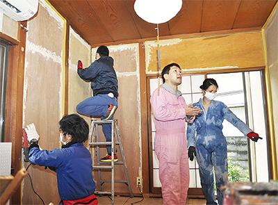 「DIY」で空き家再生