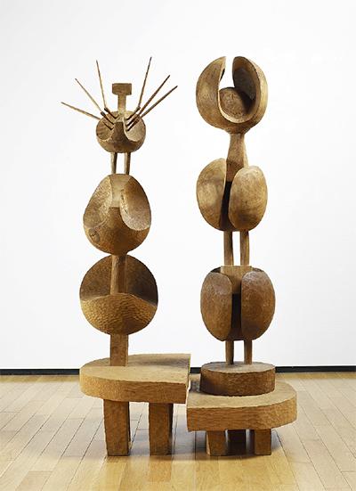 木彫の巨匠、作品にみる