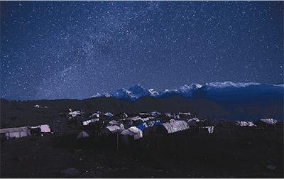 ネパール地震の震源地