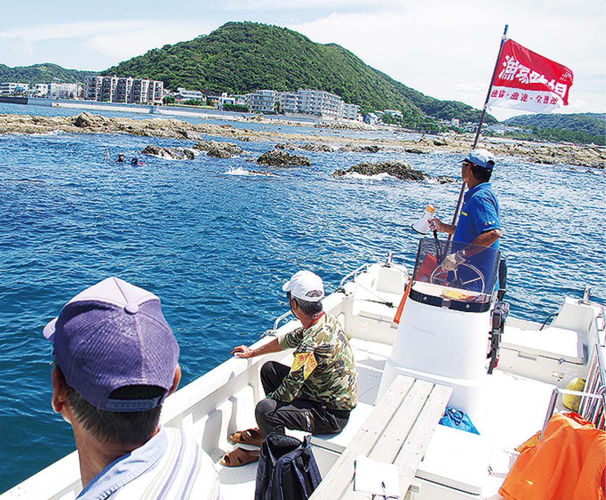 密漁パトロールを強化