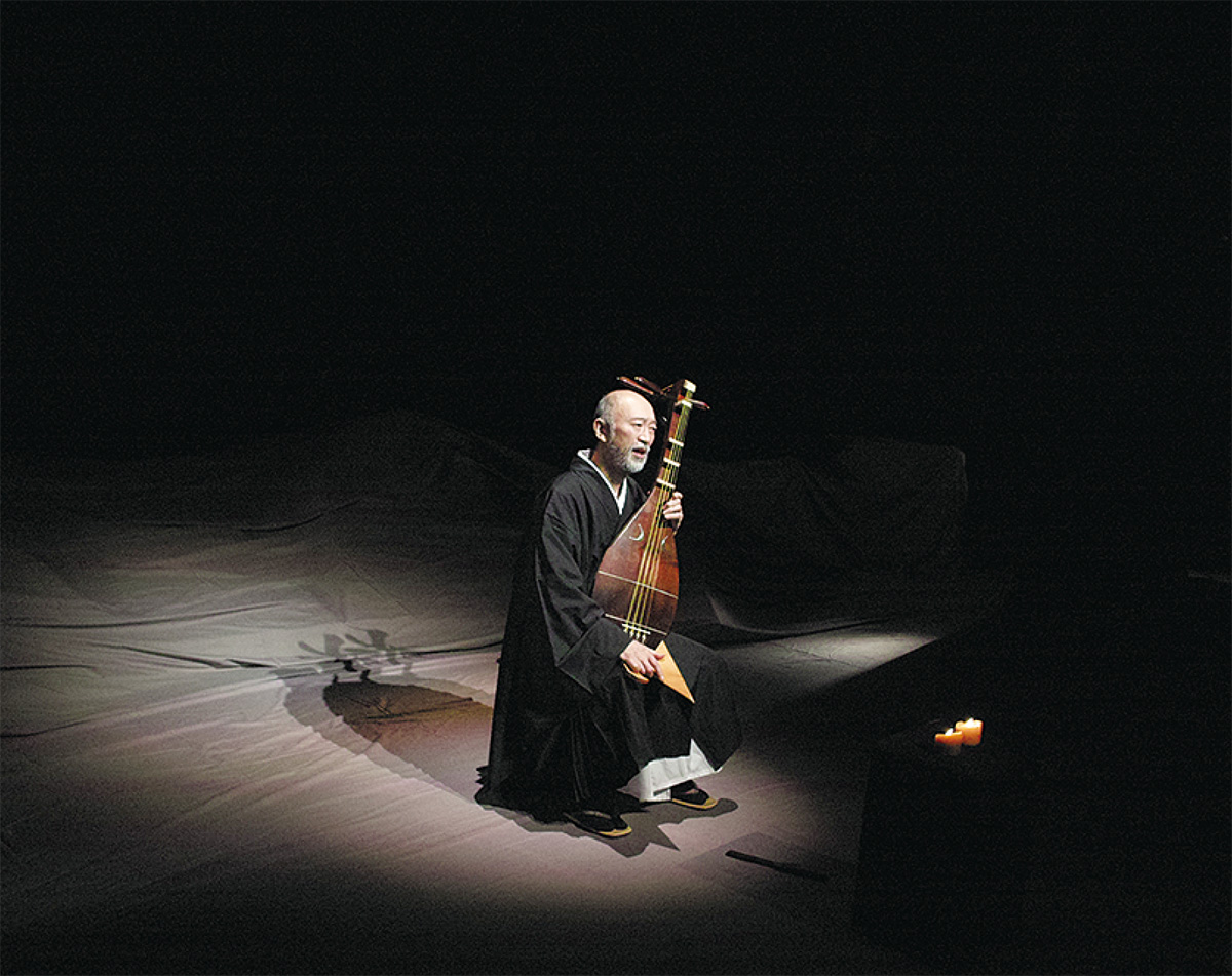 坂口安吾の名作 琵琶で堪能