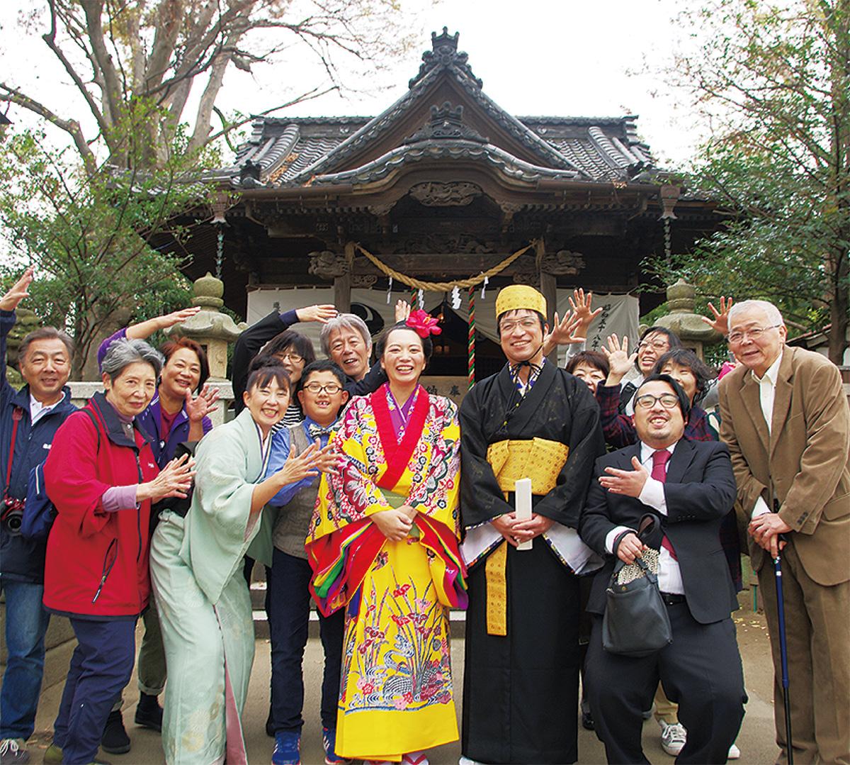亀八で平成最後の(?)結婚式