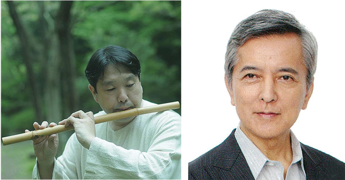 雲龍さん(左)と俳優の榎木さん