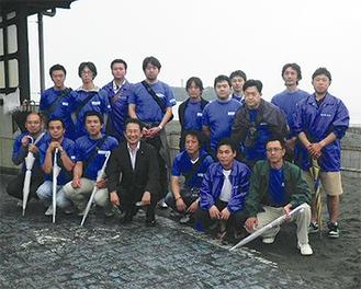 海老根靖典藤沢市長も応援に駆けつけた