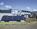 岩手県遠野市に建設されたボランティア支援拠点施設