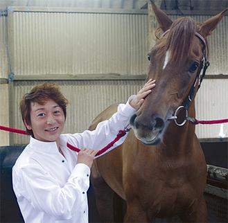 年に1度訪れる藤沢は「綺麗なまち」と今野騎手