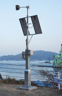釜石市の復興の様子を伝えていく見守朗