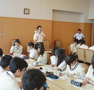 大学での授業は生徒にとって貴重な体験