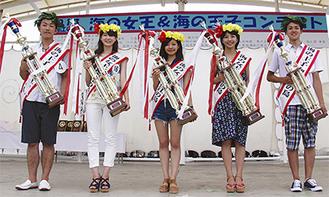 左から齊藤さん、亀井さん、佐々木さん、荒川さん、菊地さん(写真提供=藤沢市観光協会)