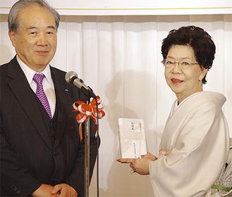 発起人代表の須藤氏(左)と入澤氏