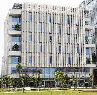 6階にアートスペース、7階に浮世絵館が開設される予定のココテラス湘南