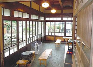 昭和文化館土間の佇まい