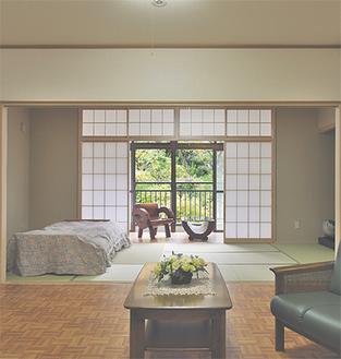 各居室に畳の部屋がありくつろげる