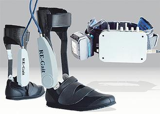 (株)ソーワエンジニアリングが開発中の歩行補助・支援ロボット