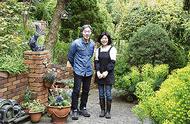 チャリティーで庭を公開