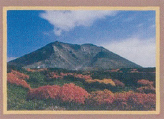 北海道の旭岳を撮影した作品