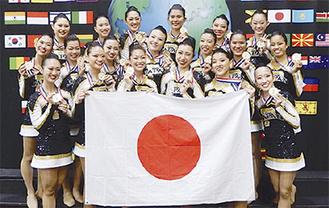 初優勝の日本代表チーム