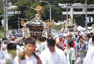 白旗神社の夏祭り