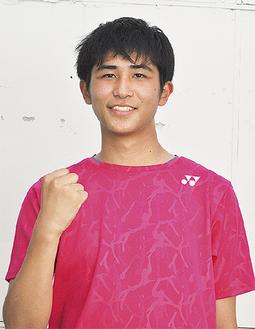 バドミトン男子シングルスの鈴木雄大さん