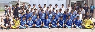 初の全国の舞台を踏んだ鵠沼中学校サッカー部