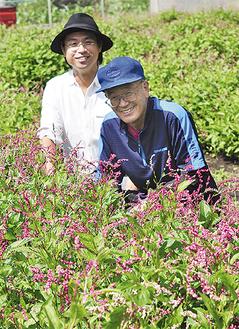 「一緒に挑戦しませんか」塩沢さん(右)と佐野さん