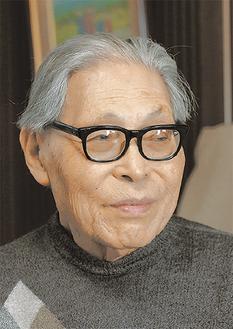 加古里子さん(撮影:鈴木藍)