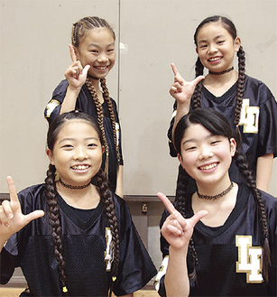 左上から時計回りで津山さん、大里さん、吉川さん、眞室さん