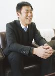 新事業について語る田村社長
