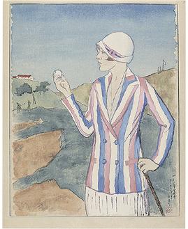 《カリホルニヤにて》1927年(=アートスペース提供)