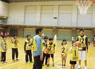 バスケを習ってみよう