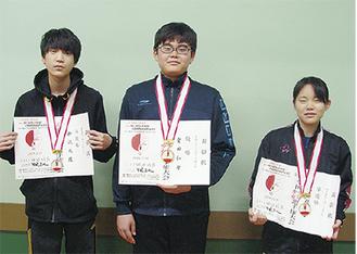 (左から)柳沢さん、重田さん、東郷さん