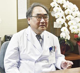 県立湘南高校、弘前大学医学部卒業。専門は高血圧、糸球体腎炎、慢性腎臓病(CKD)。2006年に藤沢市民病院診療部長、14年に藤沢市民病院副院長に就任