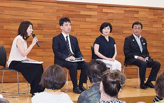 麻倉さんらによるトークショー