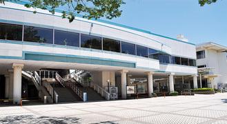 1968年に設置された市民会館