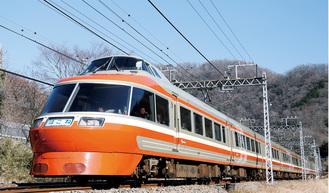 7月10日で定期運行を終了するLSE(7000形)=小田急電鉄提供=