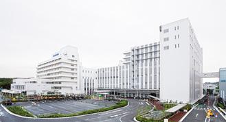 工事が終わった市民病院