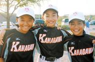 少女野球で3人が県選抜に