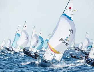 世界のトップセーラーが熱戦を繰り広げる(写真は今年1月のワールドカップマイアミ大会)Sailing's World Cup Series Enoshima 2018 © JUNICHI HIRAI / BULKHEAD magazine JAPAN