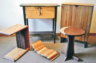 素朴で温かみのある家具