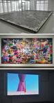 入選アーティストの(上から)金沢寿美さん、熊野海さん、藤倉麻子さんの作品