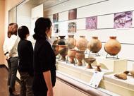 大庭城の歴史を展示
