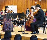 藤沢ゆかりの音楽家が訪問