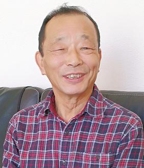 齋藤光久理事長╱2014年に理事長就任。加盟数は40商店会、2150会員(2018年7月)