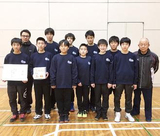 粘りのプレーで入賞を果たした藤沢クラブメンバー