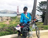 自転車で米国を縦横断