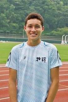 自身の日本高校記録を更新して優勝したクレイ選手