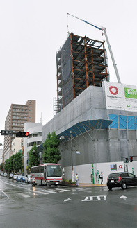 来年4月オープン予定の大型ホテル(=南藤沢)